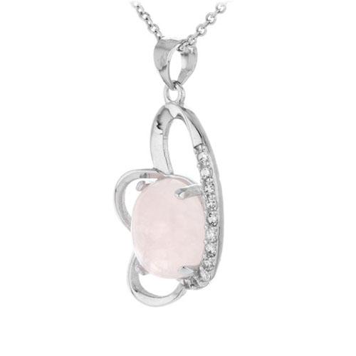pendentif femme argent zirconium cristal 8300282 pic2
