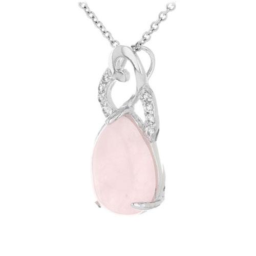 pendentif femme argent zirconium cristal 8300287 pic2