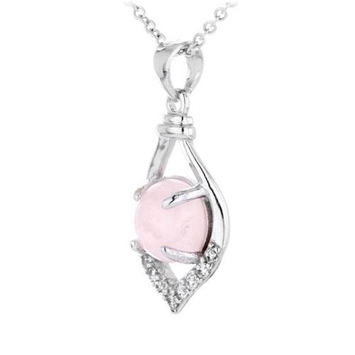 pendentif femme argent zirconium cristal 8300290 pic2