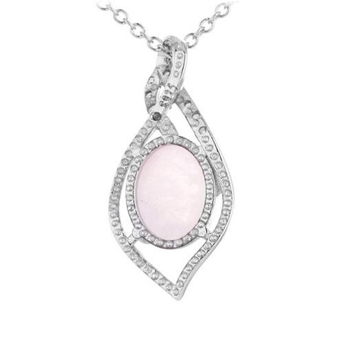 pendentif femme argent zirconium cristal 8300291 pic3