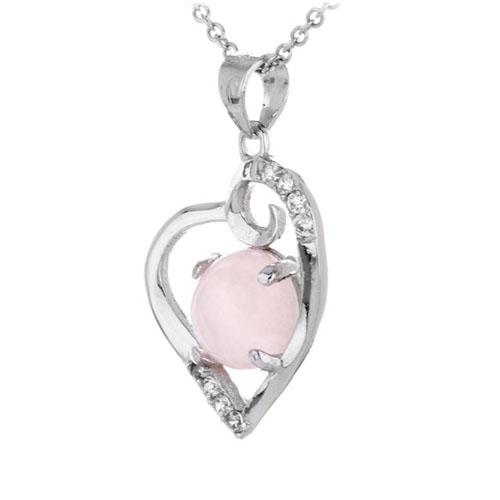 pendentif femme argent zirconium cristal 8300293 pic2