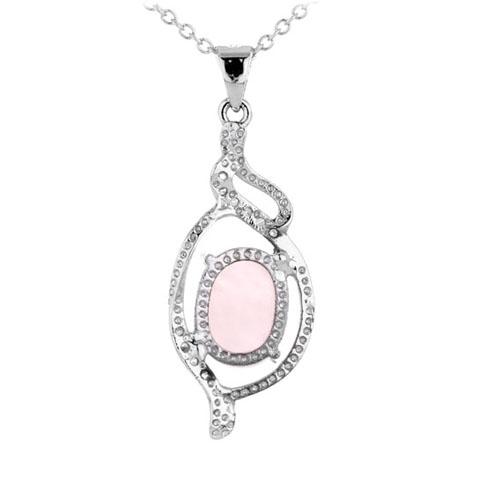 pendentif femme argent zirconium cristal 8300294 pic3