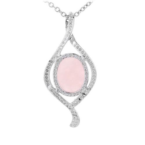 pendentif femme argent zirconium cristal 8300298 pic3