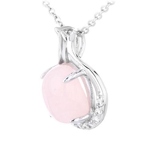 pendentif femme argent zirconium cristal 8300302 pic2