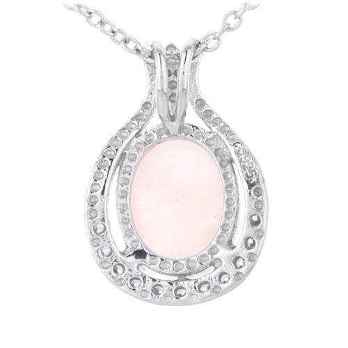 pendentif femme argent zirconium cristal 8300302 pic3