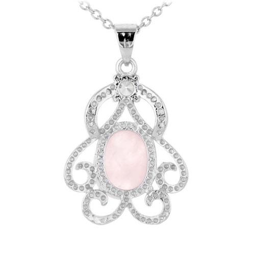 pendentif femme argent zirconium cristal 8300303 pic3