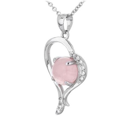 pendentif femme argent zirconium cristal 8300304 pic2