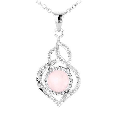 pendentif femme argent zirconium cristal 8300305 pic3