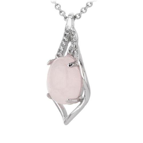 pendentif femme argent zirconium cristal 8300306 pic2