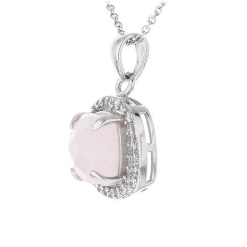 pendentif femme argent zirconium cristal 8300364 pic2