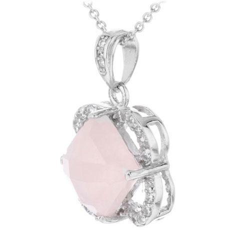 pendentif femme argent zirconium cristal 8300368 pic2
