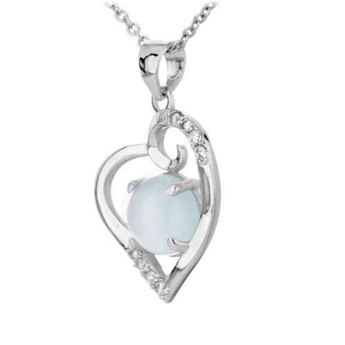 pendentif femme argent zirconium diamant 8300309 pic2