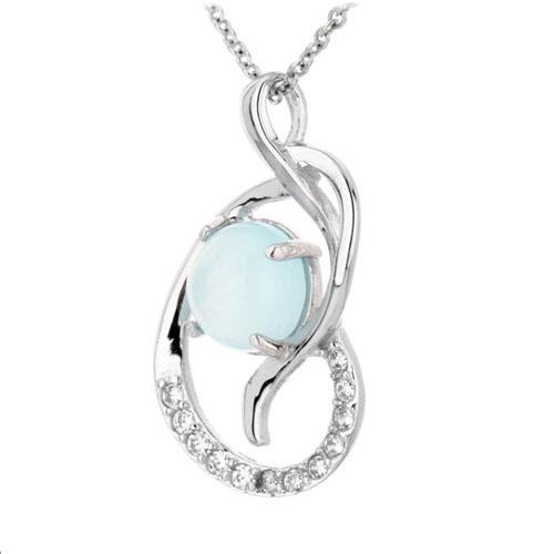 pendentif femme argent zirconium diamant 8300310 pic2