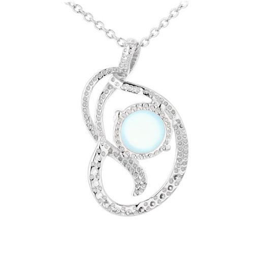 pendentif femme argent zirconium diamant 8300310 pic3