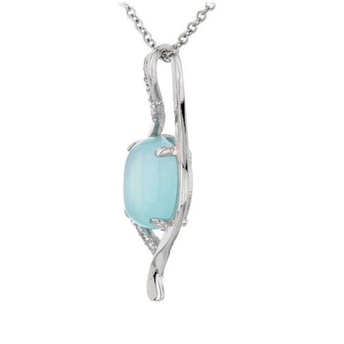 pendentif femme argent zirconium diamant 8300311 pic2