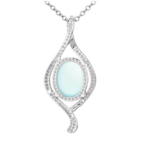 pendentif femme argent zirconium diamant 8300311 pic3