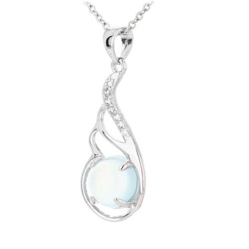 pendentif femme argent zirconium diamant 8300312 pic2