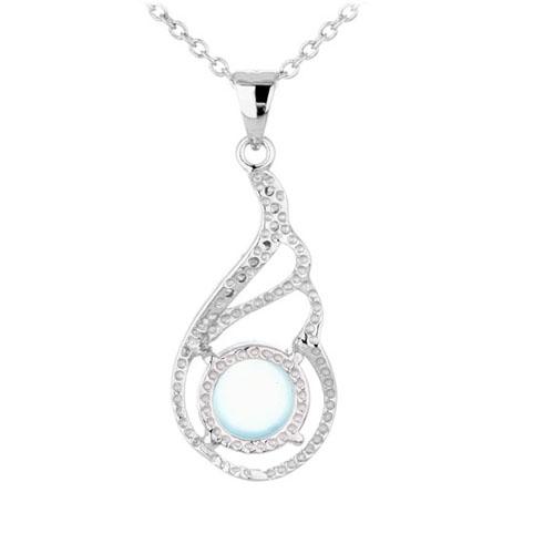 pendentif femme argent zirconium diamant 8300312 pic3