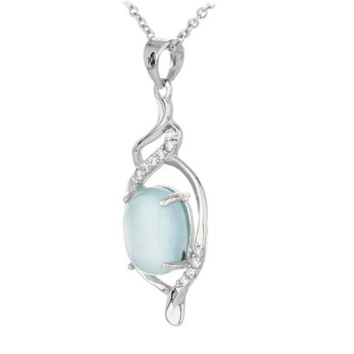 pendentif femme argent zirconium diamant 8300314 pic2