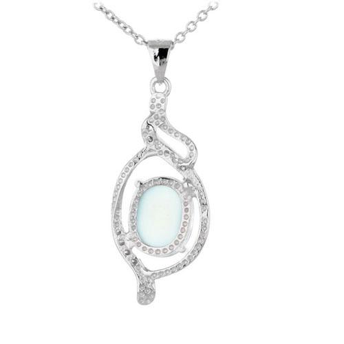 pendentif femme argent zirconium diamant 8300314 pic3
