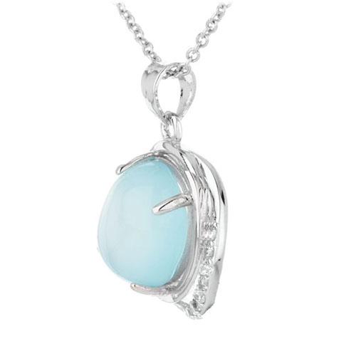 pendentif femme argent zirconium diamant 8300315 pic2
