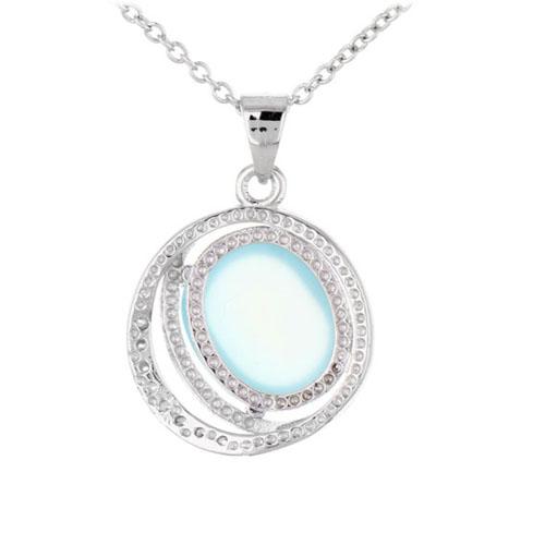pendentif femme argent zirconium diamant 8300315 pic3