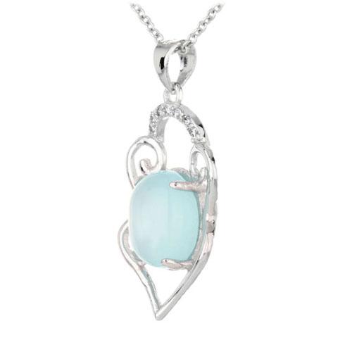 pendentif femme argent zirconium diamant 8300316 pic2