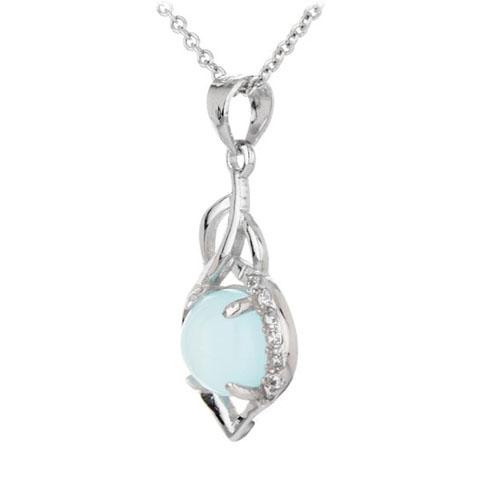 pendentif femme argent zirconium diamant 8300317 pic2