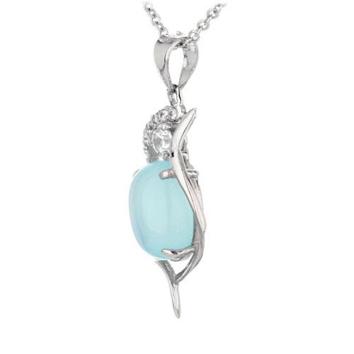 pendentif femme argent zirconium diamant 8300318 pic2