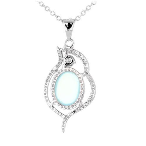 pendentif femme argent zirconium diamant 8300318 pic3