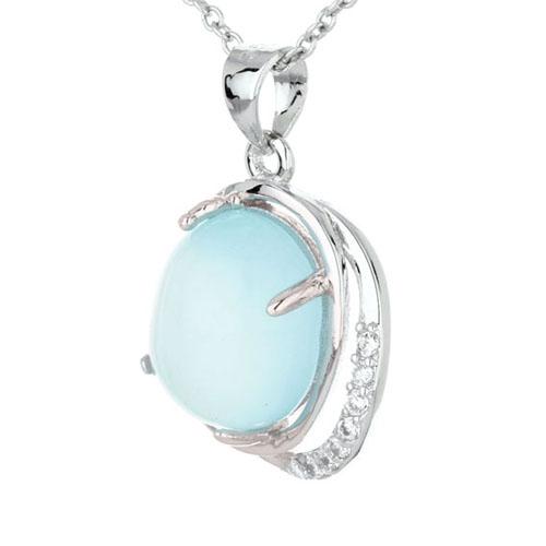 pendentif femme argent zirconium diamant 8300319 pic2