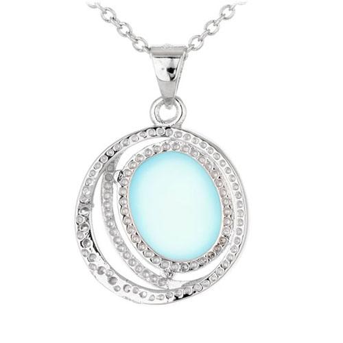 pendentif femme argent zirconium diamant 8300319 pic3