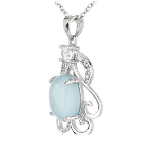 pendentif femme argent zirconium diamant 8300320 pic2