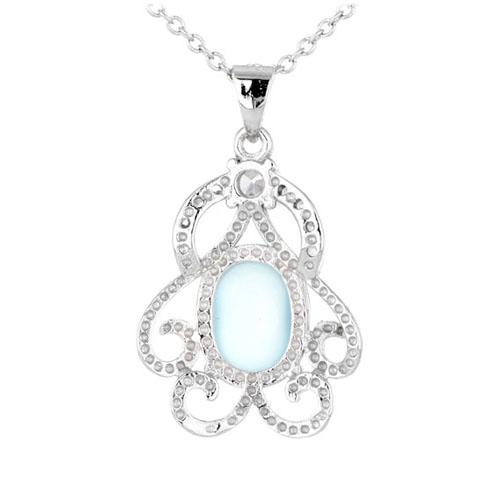 pendentif femme argent zirconium diamant 8300320 pic3