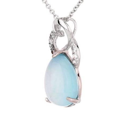 pendentif femme argent zirconium diamant 8300322 pic2