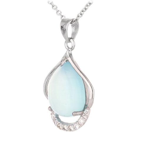 pendentif femme argent zirconium diamant 8300324 pic2
