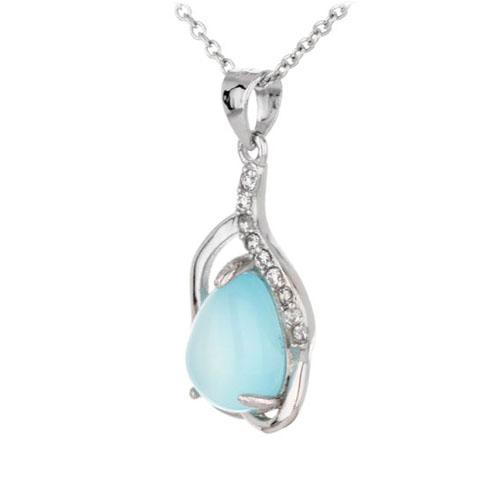 pendentif femme argent zirconium diamant 8300326 pic2