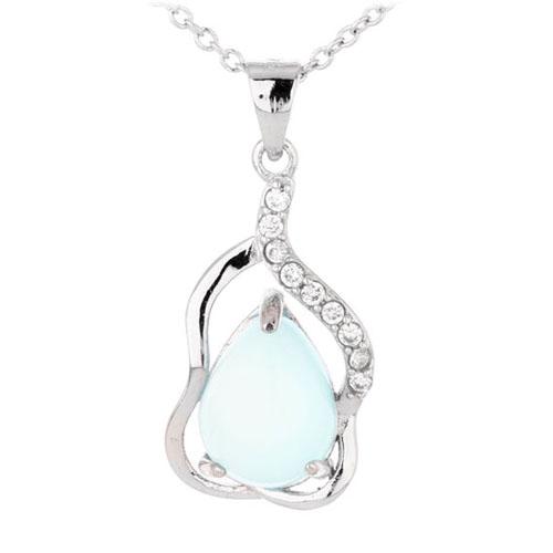 pendentif femme argent zirconium diamant 8300326