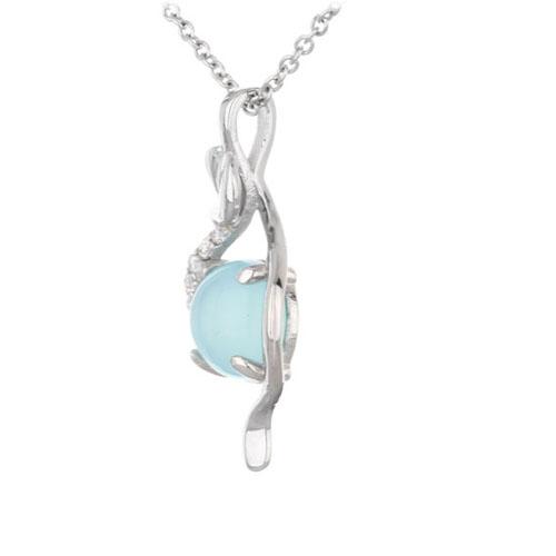 pendentif femme argent zirconium diamant 8300328 pic2