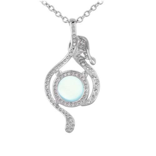 pendentif femme argent zirconium diamant 8300328 pic3