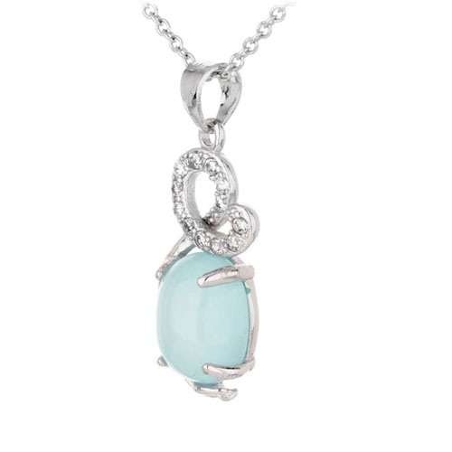 pendentif femme argent zirconium diamant 8300330 pic2