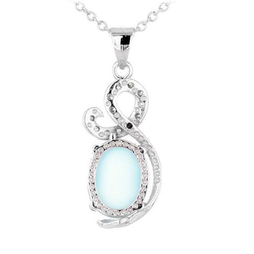 pendentif femme argent zirconium diamant 8300330 pic3