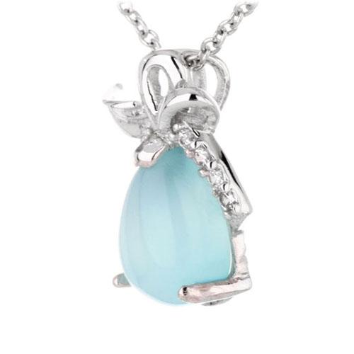pendentif femme argent zirconium diamant 8300331 pic2
