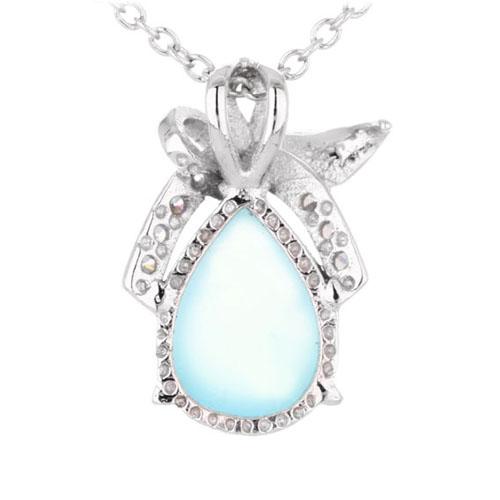 pendentif femme argent zirconium diamant 8300331 pic3