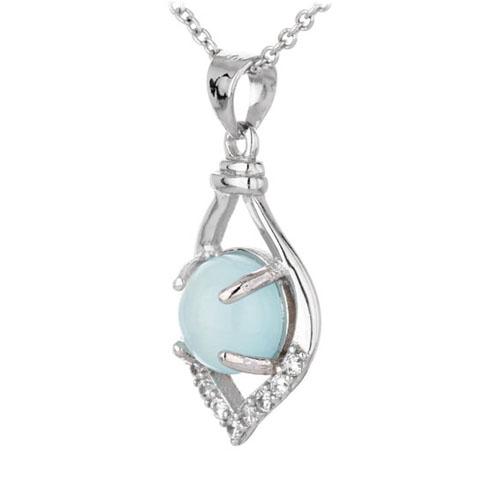 pendentif femme argent zirconium diamant 8300332 pic2