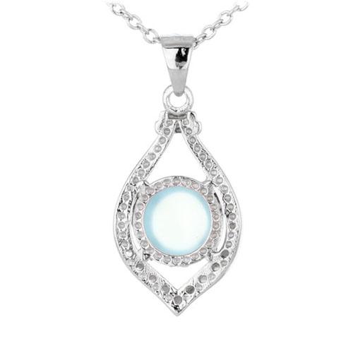 pendentif femme argent zirconium diamant 8300332 pic3