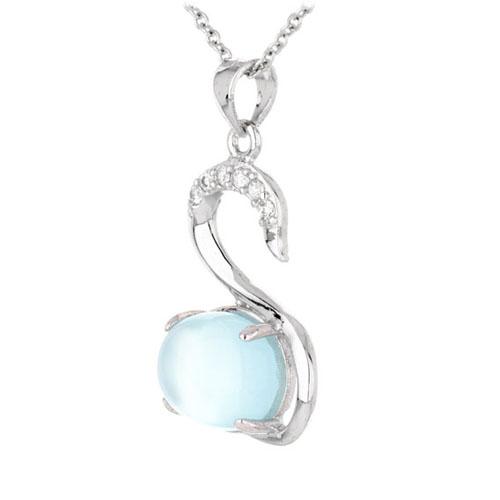pendentif femme argent zirconium diamant 8300333 pic2