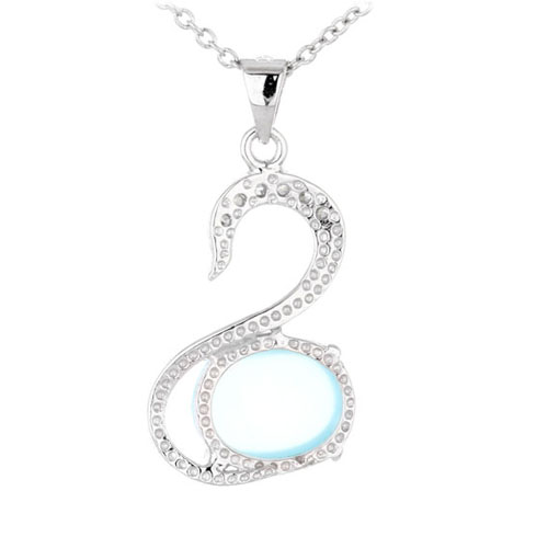 pendentif femme argent zirconium diamant 8300333 pic3