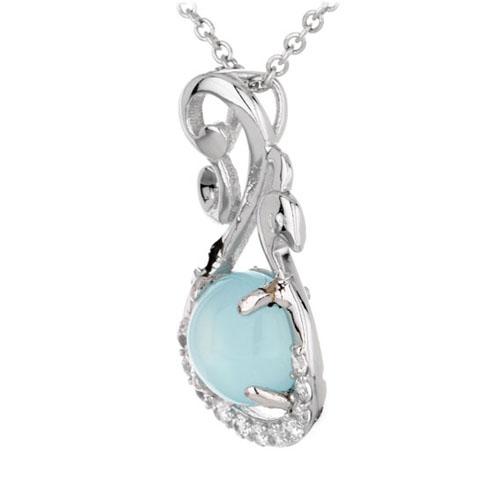 pendentif femme argent zirconium diamant 8300336 pic2