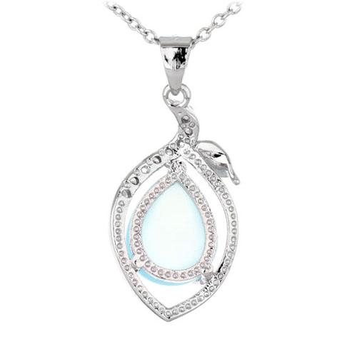 pendentif femme argent zirconium diamant 8300339 pic3